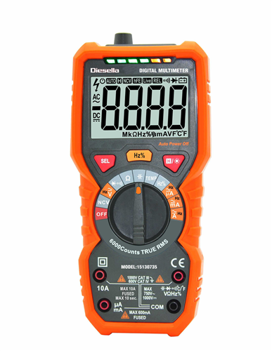 - Digitalt Multimeter -
